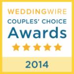 Wedding Wire couples choice award. www.weddingwire.com