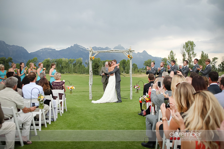 Grand Teton Wyoming Wedding