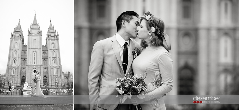 Utah LDS Temple Weddings Photographers Dezember Photography