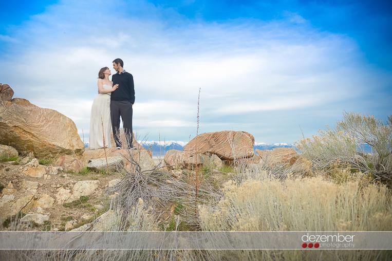 Antelope Island Wedding Photography