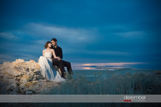 Antelope Island Wedding Photography