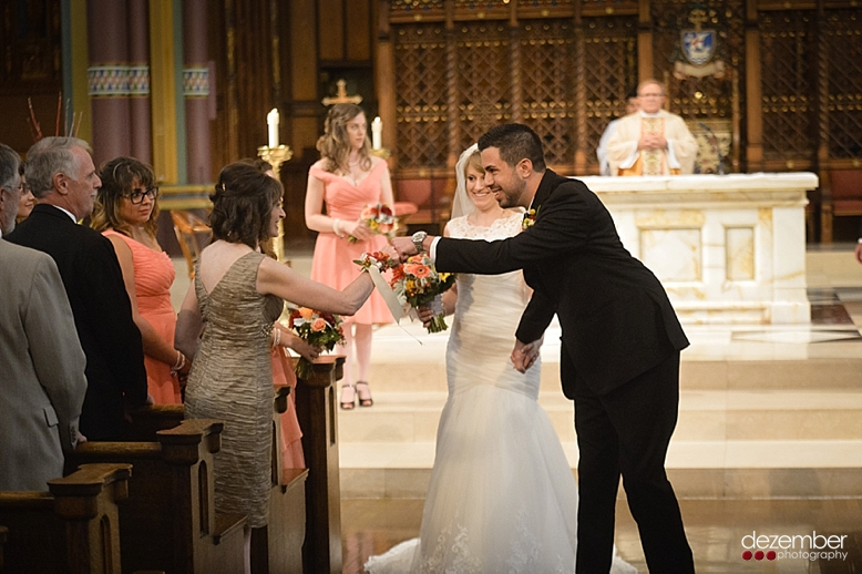 Cathedral Of The Madeleine Wedding
