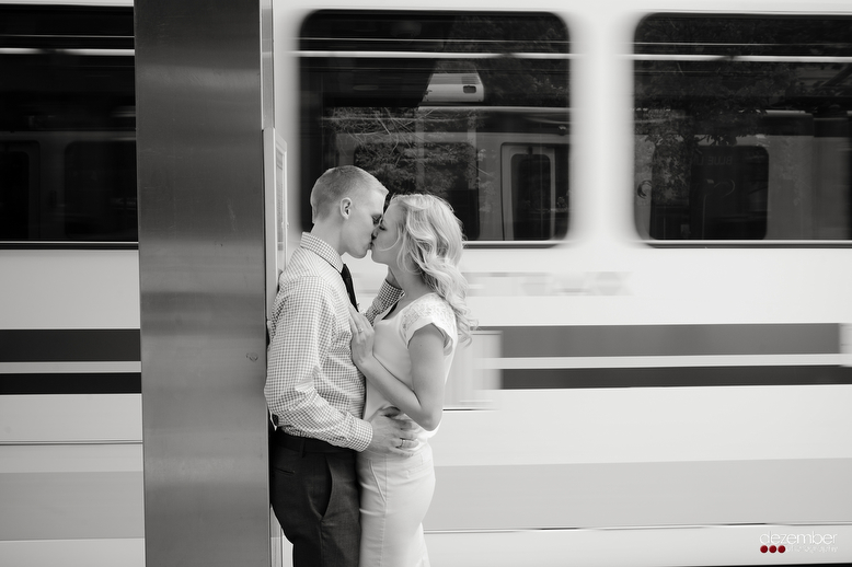 Downtown SLC Urban Engagement Photography