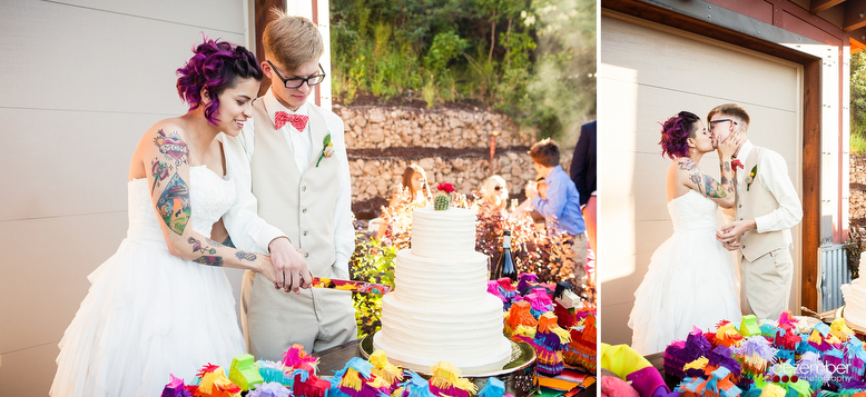 Colorful Utah Wedding