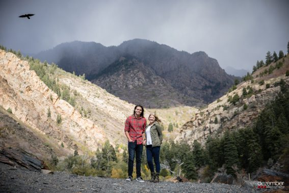 Big Cottonwood Engagement Photography Ideas