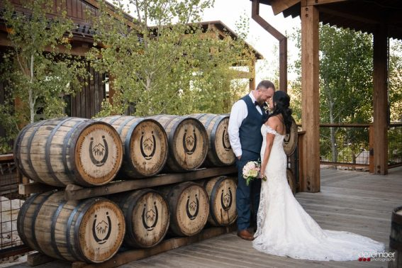 High West Distillery Wedding Photographer | Dezember Photography | Utah Wedding