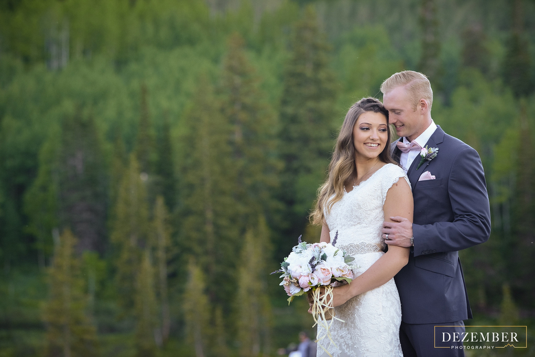 Silver Lake Bridals Dezember Photography Utah Wedding Photographer