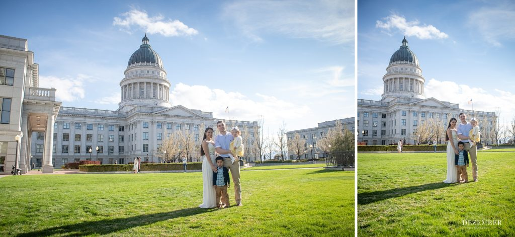 State Capitol Family Portaits