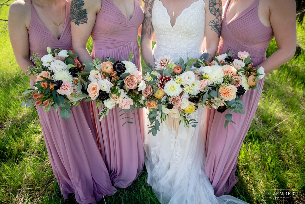 utah summer wedding bouquet
