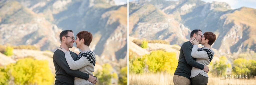 Utah fall engagements