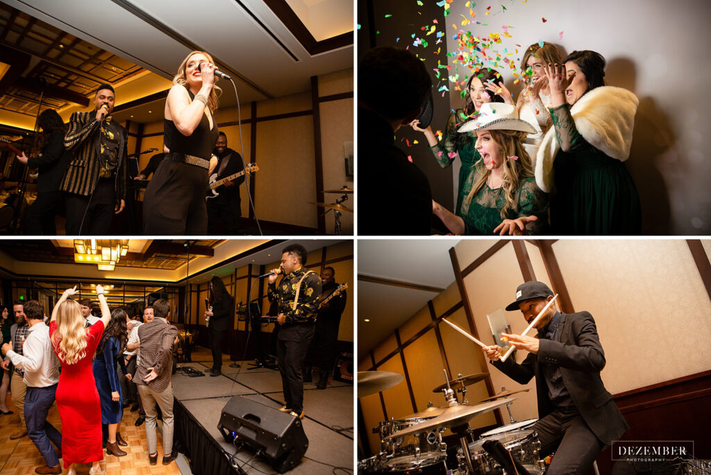 Montage Winter Wedding Changing Lanes Band and Clementine photo Booths