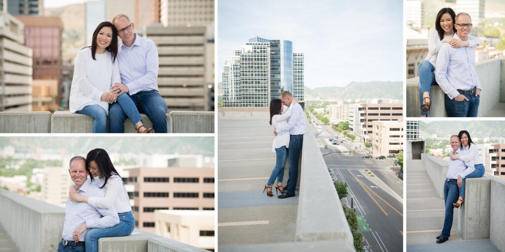 Custom family photo album Downtown Salt Lake City