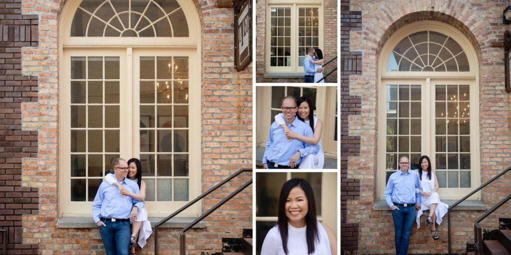 Custom family photo album