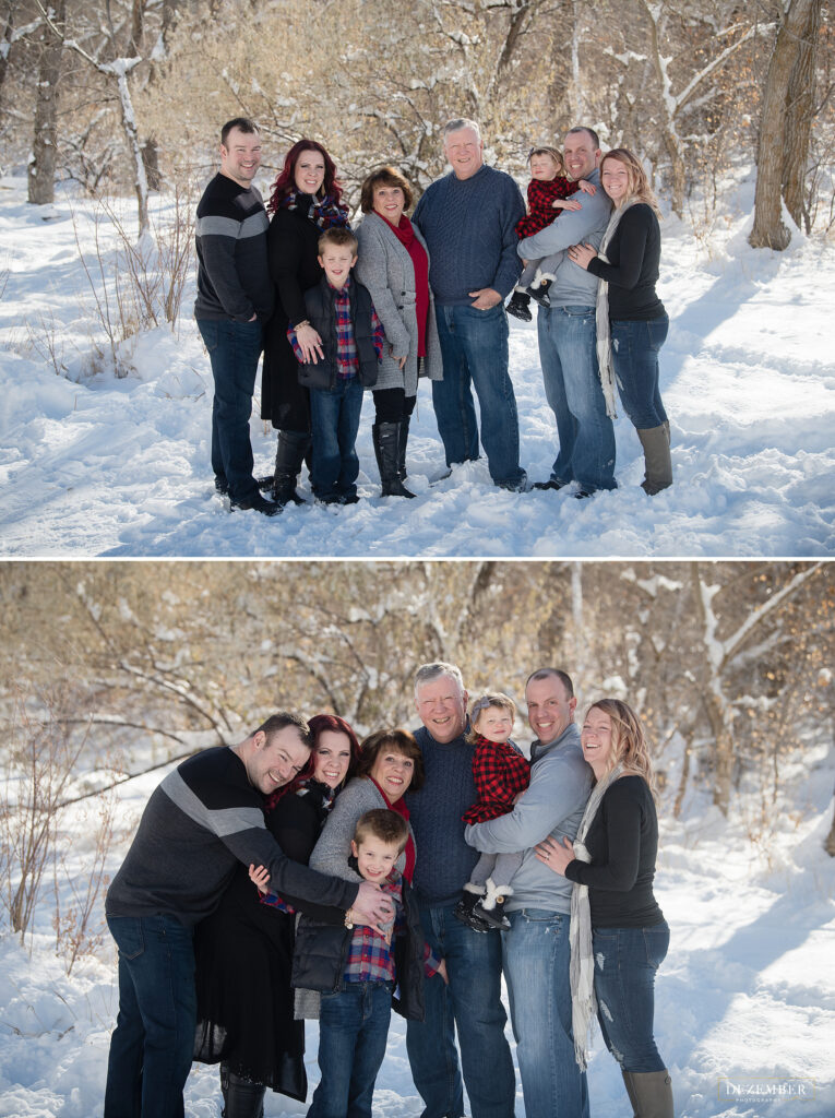 Family portrait photographer Utah