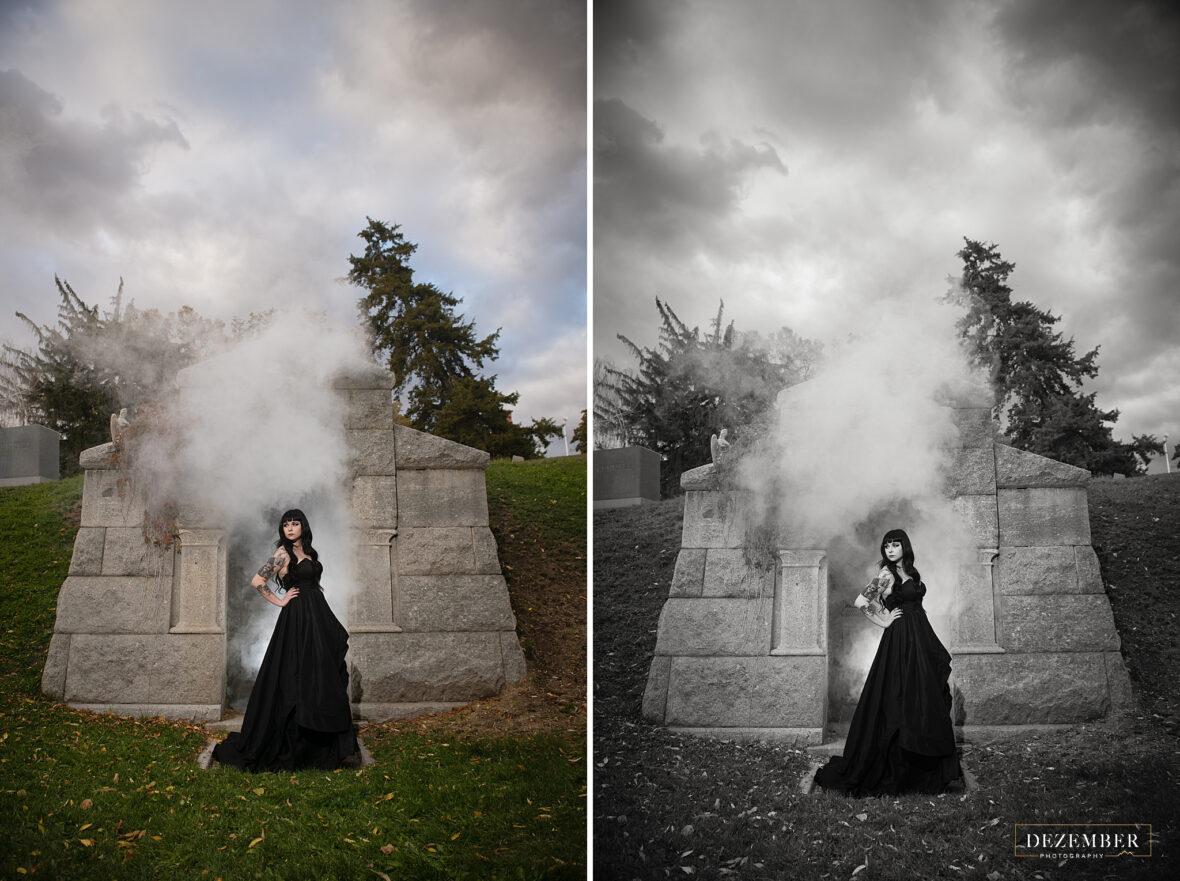 Goth bridals